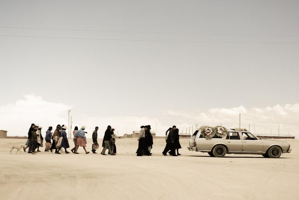 process funéraire Bolivie